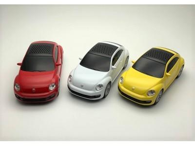 Volkswagenザ・NEWビートル型 BluetoothスピーカーがCAMSHOPより販売開始!
