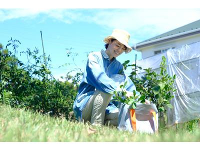 タレント・川瀬良子、ガーデニングカウンセラー・岡井路子さんとプロデュースした、防水素材のバッグ「ZAB(ザブ)」が現在発売中!