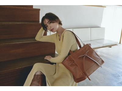 モデルのソンイが手掛ける「SWU」で即完した「MULTIWAY BIG TOTE BAG」が再販売決定!新作サイズも販売スタート!!