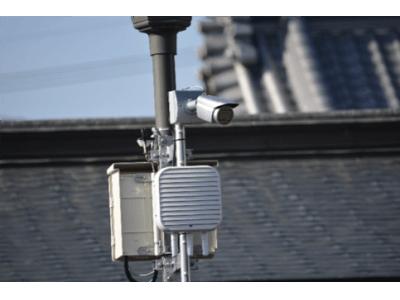 シャープ製無線LANアクセスポイントを活用し 善光寺にクラウド監視カメラを設置
