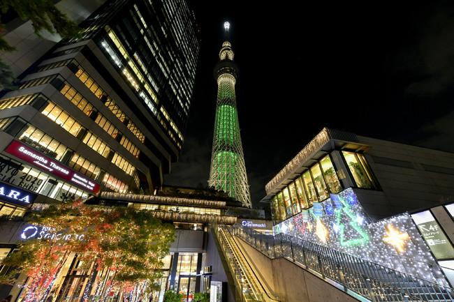 今年の東京スカイツリータウン(R)のクリスマスは心が温かくなり、心も休まるプログラムをご用意!東京スカイツリータウン(R...