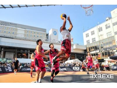 注目の東京臨海副都心地区のダイバーシティ東京 プラザで開催!3人制プロバスケリ…