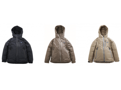 シュラフでお馴染みの「NANGA(ナンガ)」のダウンジャケット エルブレスとコラボした限定デザイン発売