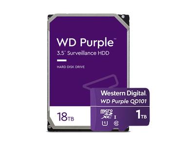 WD Purpleスマートビデオソリューション製品を拡充AI対応インテリジェント録画システム市場の成長を牽引