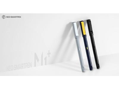 [新製品] 進化が止まらないNeo smartpen M1+(エムワン プラス)の新製品発売スタート バッテリーを気にしないスマートペン、利用時間が3倍に