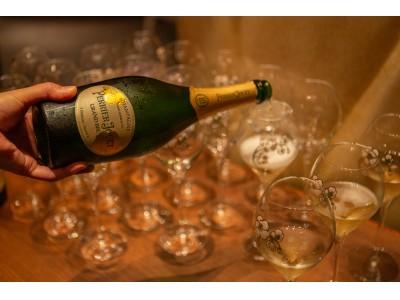 ペリエ ジュエのシャンパーニュをグラス一杯から愉しめる年末バイ・ザ・グラス フェアを都内各所にて開催!