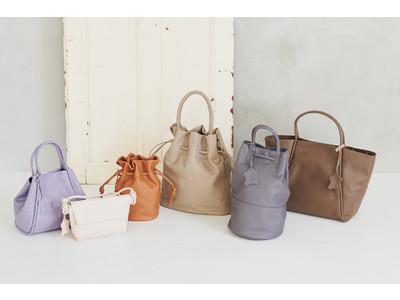 アンダー1万円で本革バッグが買えるKEYUCAの本革バッグシリーズが登場~KEYUCA全国の店舗、オンラインストアにて9月4日より順次発売~