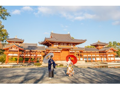 史上初、1000年の歴史を持つ世界遺産の前で結婚式の前撮りを!平等院とTAKAMI BRIDALの共同事業として京都・平等院で婚礼前撮り(ロケーションフォト)の受け入れを開始
