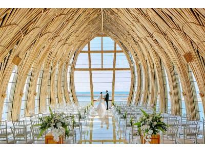 アジア リゾートウエディングに新たな価値を創造 世界屈指のリゾート地 バリ ヌサドゥア地区で注目の5つ星ラグジュアリーリゾートホテル「ジ アプルヴァ ケンピンスキ バリ」 結婚式の取り扱いを開始