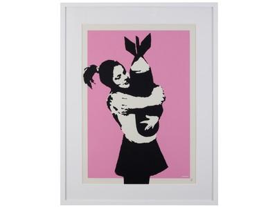 現代アートの会員権サービス「ANDART」バンクシー作品のオーナー権一般販売を26日正午12時より開始!
