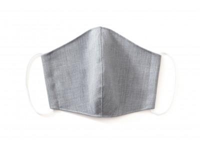 蒸れにくい『ウール』を使ったマスク。ウール専門ブランド、『Woolly/ウーリー』が洗える布マスクを再販。