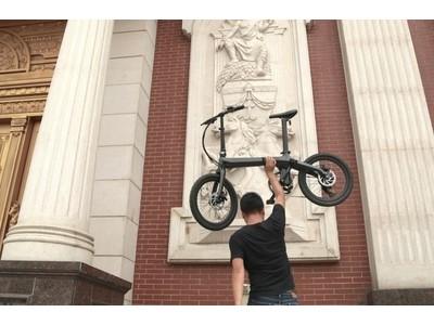 【最注目】  折りたたみができて12.8kg?!7.0Ahバッテリー搭載の電動アシスト自転車が誕生