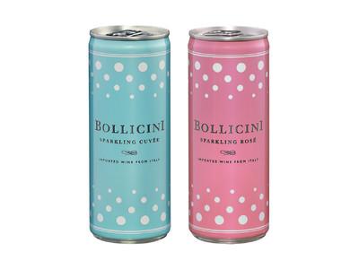 缶入りスパークリングワイン「ボッリチーニ」新発売