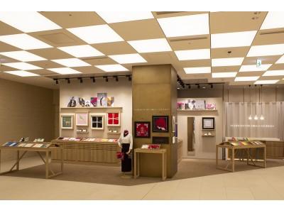 ハンカチーフ専門店「CLASSICS the Small Luxury」が9/27オープン コレド室町テラス店限定柄「金継ぎ」を発売