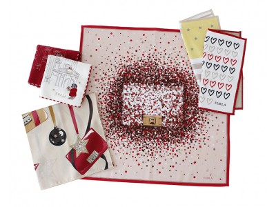 フルラより クリスマス限定ハンカチーフ新登場 全国百貨店で販売開始
