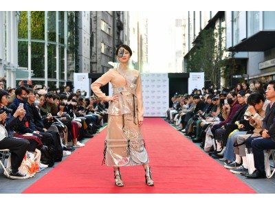 「第11回 渋谷ファッションウイーク」渋谷ストリーム前 稲荷橋広場でファッションショー「SHIBUYA RUNWAY」を開催