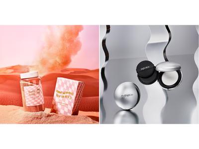 トータルビューティセレクトショップ〈MEGOOD BEAUTY〉オープン2周年!限定商品ローズの香りの「アロマ バスソルト」と〈mgb skin〉「グロウ サンクッション」が限定パッケージで登場。