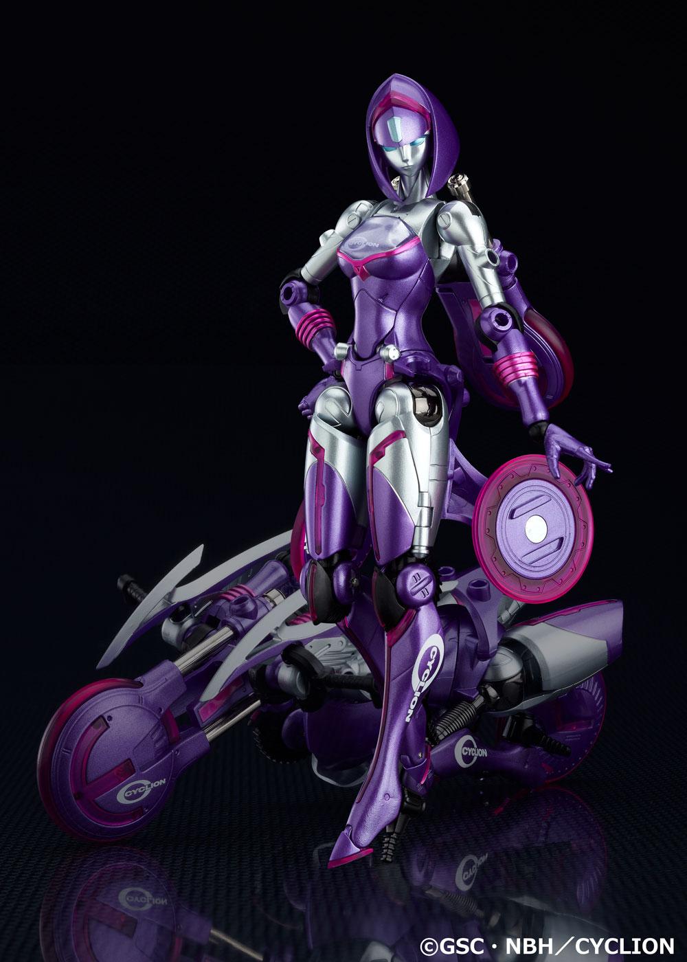 新・変形体験! 可変バイクレディ「サイクリオン」誕生!