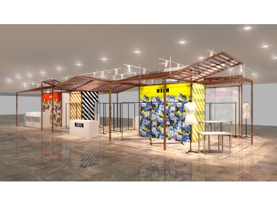 「MSGM 」ポップアップストアが 4月24 日(水)から 30 日(火)まで伊勢丹新宿店本館2階= センターパーク/ザ・ステージ#2にオープン!