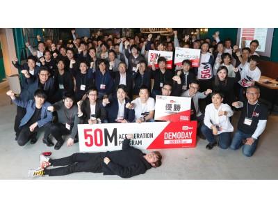 ニッセイ・キャピタルが主催するアクセラレーションプログラム「50M」第2期Demodayを開催!
