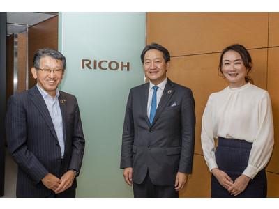 リコー、企業の女性役員比率向上を目指す「30% Club Japan」に加盟
