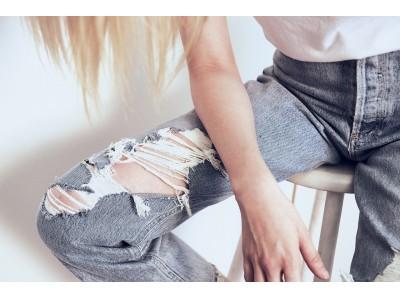<デニムにまつわるエトセトラ>◎近年はゆったりしたスタイルのジーンズが流行の兆し!