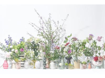 「母の日に贈りたい ILLUMS セレクトフラワーベース32選」を ILLUMS日本橋店にて開催