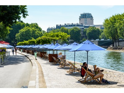 LA MARINE FRANCAISE が、7月17日(土)~公式ウェブサイトと直営店舗にて「 Paris Plages 」 イベントを開催。