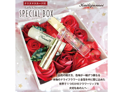 『Kailijumei(カイリジュメイ)』2020クリスマスコフレセット~アーリークリスマス スペシャル ボックス~先行予約開始!