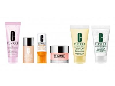 NY発・皮膚科医発祥の「クリニーク」より、人気製品が、旅行にも持ち運び便利なミニサイズになって登場!