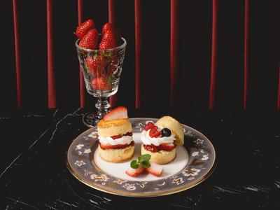 限定「苺のクリームティー」をVIPシートで堪能。紳士・淑女のためのティーサロン、銀座「Quiet Tea Salon」