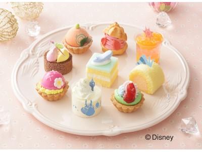 銀座コージーコーナー、2月15日にディズニープリンセスデザインの「ひなまつり」限定プチケーキセットを発売
