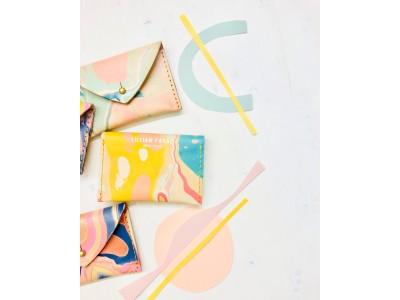 NY発「架空のアートギャラリー」Little Gifted、ブルックリン在住アーティストLillian Faragによる手描きのレザーグッズの取り扱いを開始