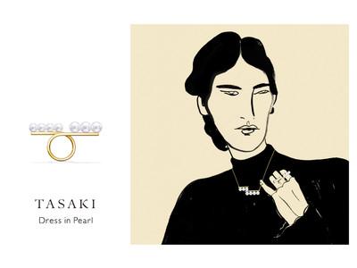 TASAKI、パールをまとう女性たちの美をアートで表現するイベント「Dress in Pearl」、11月25日(水)よりスタート