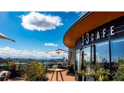 藤沢発の天空のカフェ「3+3CAFE (サンタスサンカフェ)」オープンに関する…