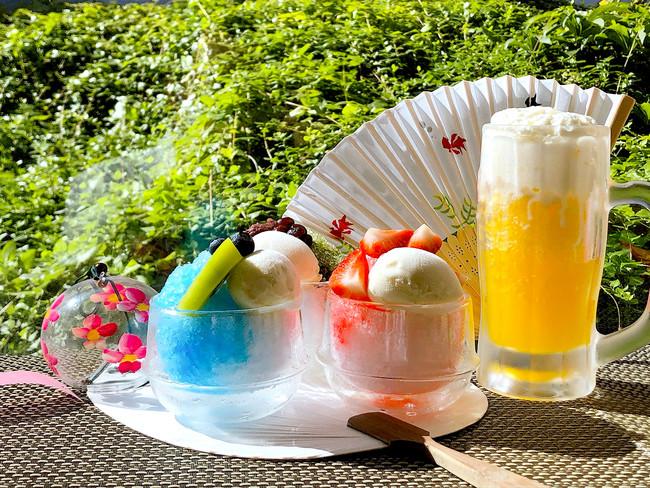 「ビールジョッキ de かき氷」で乾杯!