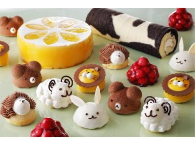 動物モチーフのケーキが多数!一日限定のケーキバイキングを開催