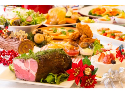 クリスマスは和牛ローストビーフ、トリュフパスタ!全40品が食べ放題「クリスマスディナーブッフェ」開催