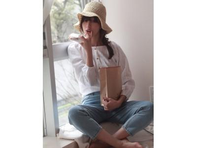 「ヒルナンデス」ファッションセンスランキング連続1位獲得の注目モデル愛甲千笑美プロデュースの新ブランド「if she」4月25日(木)にグランドオープン!