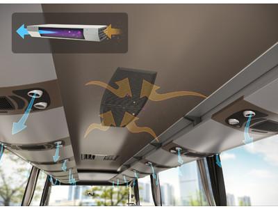 ヴァレオ、ウイルスなどを95%以上除去できるバス向けシステムを開発