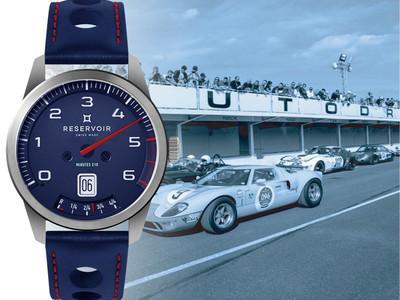 フランスの腕時計ブランド「RESERVOIR(レゼルボワール)」がクラシックレーシングカーをモチーフにした〈 GTツアー 〉コレクションの新作を発売。