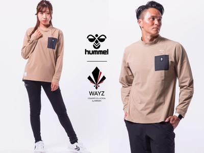 【WAYZ】ヒュンメルコラボ ロングスリーブTシャツ販売のお知らせ