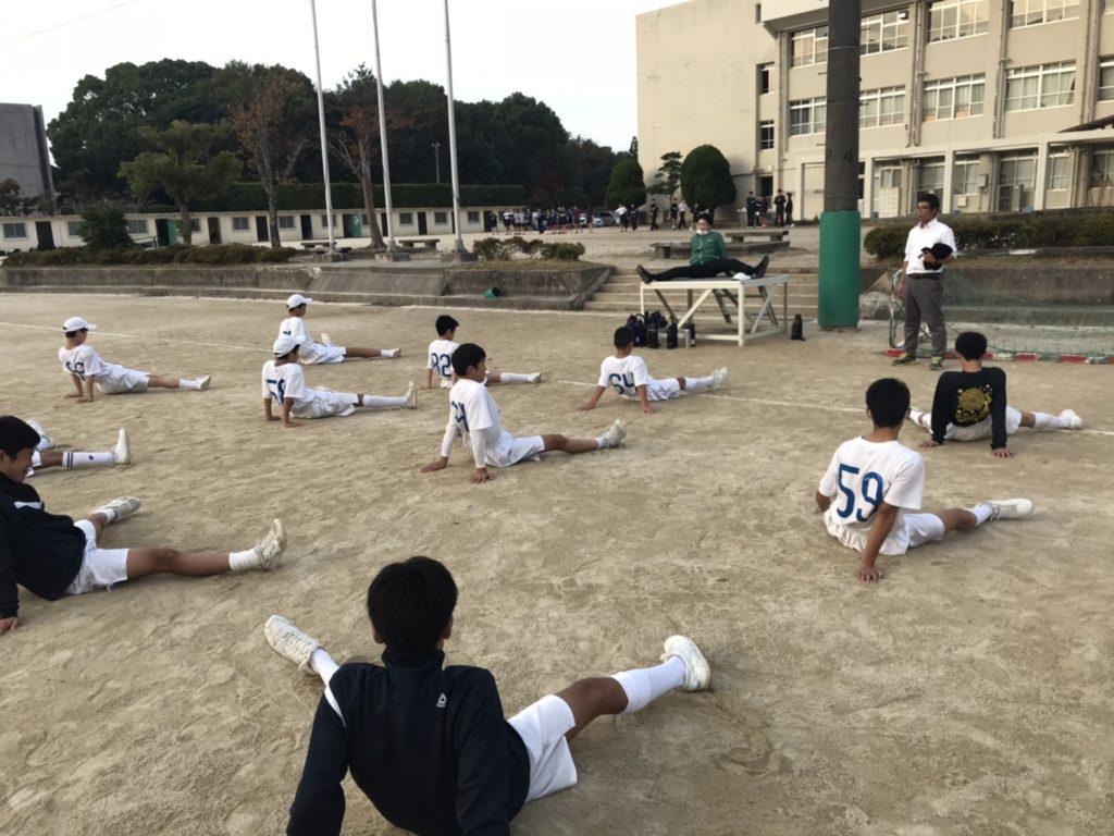 【体験会】堺整骨院 長住院 片江中学校にてストレッチ体験会を実施!!