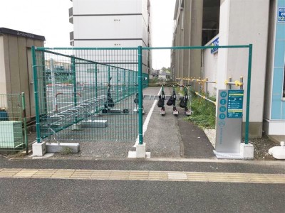 シェア電動キックボードサービス 「WIND」、千葉市での実証実験にJR東日本が参画~JR京葉線・稲毛海岸駅に公道用ステーションを追加~