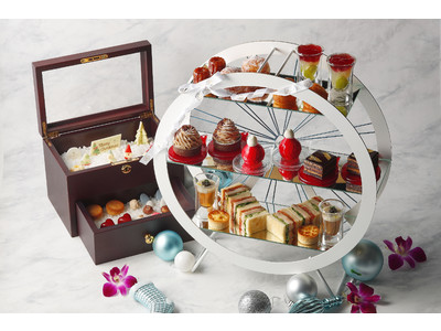 ザ・カハラ・ホテル&リゾート 横浜、話題沸騰のアフタヌーンティーを生み出したペストリーシェフがおくるウィンターシーズン限定のアフタヌーンティーとクリスマスケーキが誕生