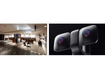 360°/VR180°カメラ「VUZE XR」、実店舗での取り扱い店として阪急メンズ東京のセレクトショップ「FOX」で取り扱いを開始