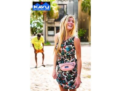 KAVUより、人気のスリムなウェストバッグ「スペクテーター」春夏の新色が発売しました!