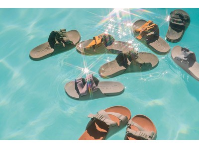 Chacoより、EVAフットベットを採用した履きごこち抜群のサンダル、「チロススライド」が発売。