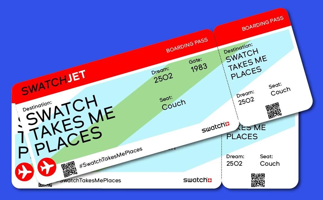 スウォッチ が世界30都市でバーチャルツアーを開催!行きたい都市を選んで30日…