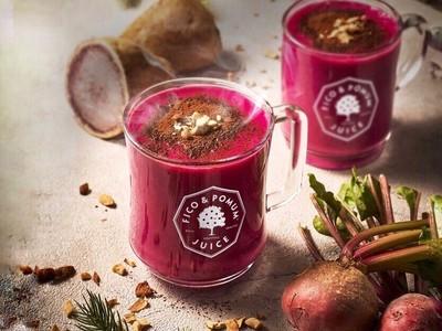 【フィコ&ポムム】管理栄養士監修の本格スムージーが冬季限定で登場!根菜のスムージーで身体を芯から温める「紫芋とビーツの温活スムージー」